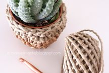 DIY crochet . uncinetto / Crochet ideas!