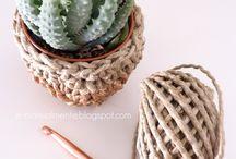 DIY crochet . uncinetto / Crochet ideas!