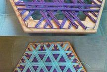 плетеные из ниток коврики