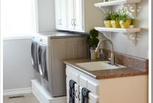 Laundry room / by BJ Holsomback