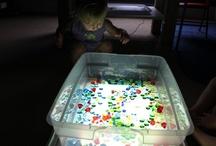 Preschool ~ Light Box Ideas / by Jill Dodds