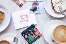 Holiday Greeting Card, Shimmy Down My Chimney