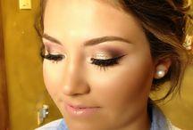 obočí + makeup