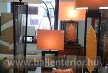Stuff to Buy / Tömör teakfa bútorok, különleges lámpák, egzotikus dísztárgyak