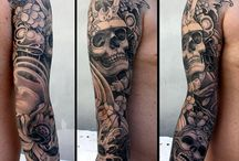 black & grey tattoo