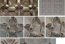 yastık büzgü desenleri