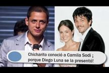 Chicharito conoció a Camila Sodi ¡porque Diego Luna se la presentó!