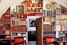 Dream Home ~ Dining Room - Library / by Kate Wynn