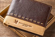Christian Wallets for Men / Men's Genuine Leather Wallets - Faith Based, Scripture Verse Wallets