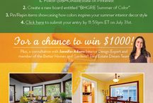 BHGRE Summer of Color / by Leanne Arvila