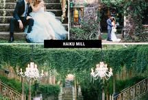 Weddings / The Big Day is a lot of work. Here's a collection of inspirational wedding photos to help you plan your special day.