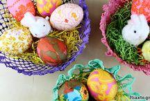 Πάσχα / Easter / Decoupage δημιουργίες για το Πάσχα / Decoupage Easter creations