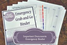 Emergency Preparedness / by Kneaded Creations