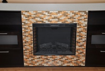 Fireplace Ideas K+B Builders, Inc.  Tampa Bay Florida / indoor fireplace ideas.