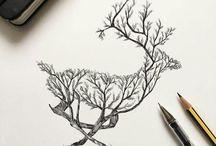 ecosystem drawings/representations