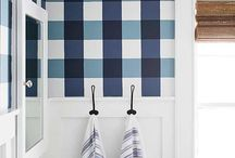Bathroom Color Themes / The bathroom is a wonderful place to add a pop of color in your home! Check out these color themes for your perfect bathroom oasis.