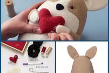 Sewing Patterns, Tips and Tricks / #freesewingpatterns #cute #kawaii #sewing #patterns #stuffed #plush #soft #animal #animals #plushies #pattern #free #diy #handmade #sewn #toy #toys #ideas