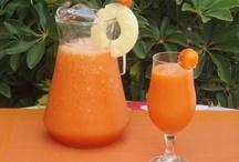 batido piña naranja