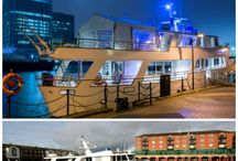 The President's Yacht / Fabulous yacht for events based in South Quay, London