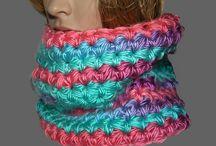 Nákrčníky (háčkované, pletené)