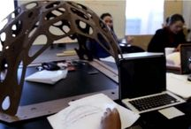 Thin-Shell Structures / Princeton engineering students traveled to Germany to learn the science and art of these unique building frames. For more on the story and the structures: http://bit.ly/1aLJTOh