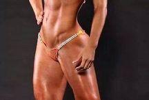woman body muscle