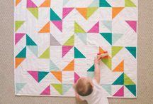 Baby Quilts und Spielzeug genäht