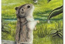 hamster art