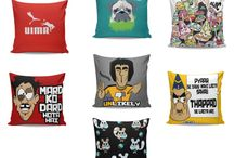 Quirky, Humorous, Funny Designed Products / Our Quirky, Humorous, Funny Designs are made to bring smile to your face. Designed by hundreds of artists across India