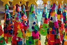 Children's Christmas craft