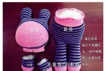 pupazzi con le calze