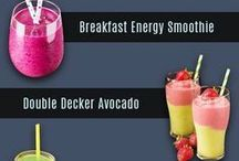 Healthy drinks smoothies