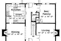 Colonial house plans Master suites