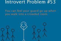 introverts / by Veronica Estrella-Guerra