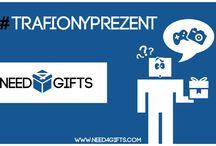 Zawsze trafiony prezent / Pionierski w Polsce portal społecznościowy dla osób, które chcą wręczać i dostawać trafiony prezent.