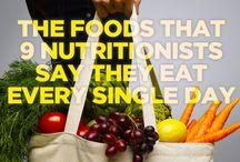 Random healthy food