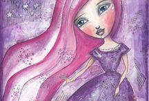 ARTist Luv~ Tamara Laporte / by Kathie Gadd