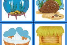 Zvířata / materiály do mateřské školy