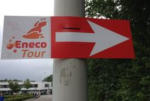 Sign Cycling Race / Way Finding / Directional Signage design