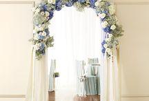 Blue-white-Wedding