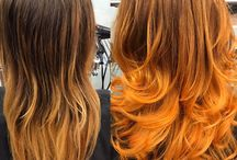 Colouring and Ombre Showcase / This is a showcase of some of the fantastic highlights, Ombres. Balayages, colour changes and just down right stunning colours created in our Manchester city centre salon