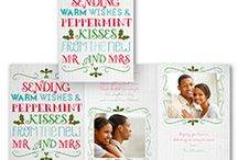 Newlywed Christmas Cards!
