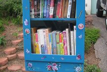 Little library 小書齋 / The reason why we see farther because we stand on the shoulders of giants! Reading reading~~
