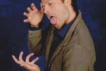 Misha Collins ladies and gentlemen <3 <3