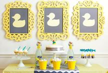 Duck theme baby shower