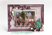 ramki na zdjęcia i inne / Ręcznie wykonane ramki na zdjęcia i inne, których bazę stanowią ramki marki Papelia