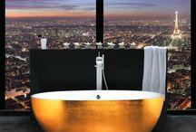 ARANŻUJĄC SWOJĄ ŁAZIENKĘ... / Ciekawe pomysły na aranżację łazienki. Niebanalne dodatki, odważne rozwiązania!