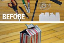 Upcycling / Upcycling ideas we have found on Pinterest.