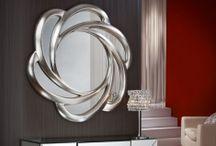 MIROIRS MURAUX / Des idées pour la décoration avec des miroirs. Miroirs modernes, vénitiens, de design avant-gardiste, classique, rustique, etc.