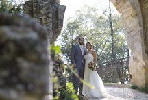 Parc Majolan - Blanquefort / Photos de mariage au parc Majolan à Blanquefort dans les environs de Bordeaux. Séances photos Trash The Dress de couples de jeunes mariés après le jour J.